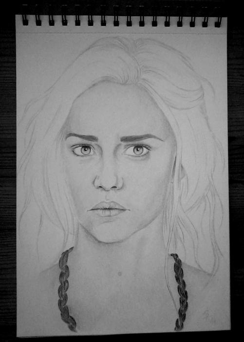 Emilia Clarke by J.K